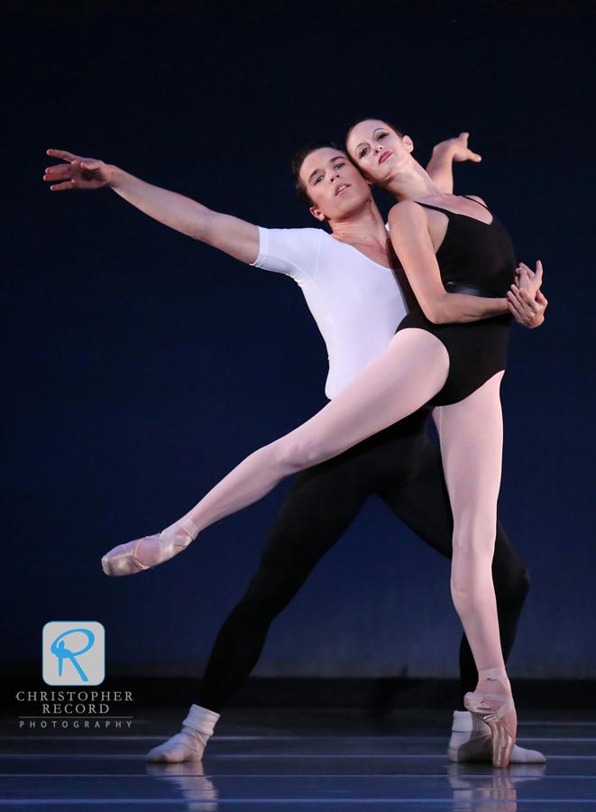 Alessandra James and Josh Hall