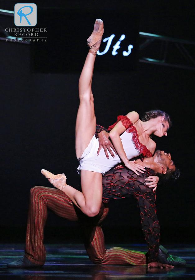 Anna Gerberich and Pete Leo Walker