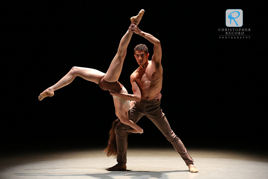 Jordan Leeper and Anna Gerberich in Dwight Rhoden's Peace Piece