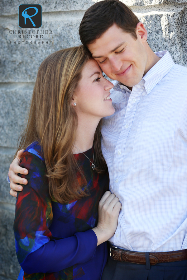 Abigail and Chris at Bearden Park