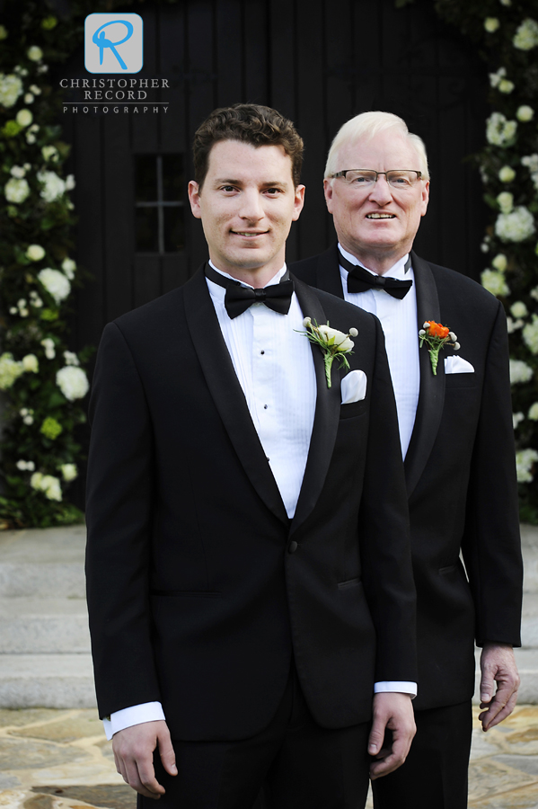 Drew's father was also his best man