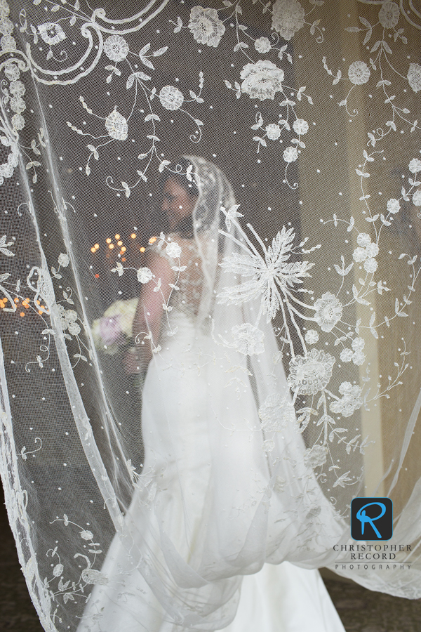 The amazing veil was a family heirloom