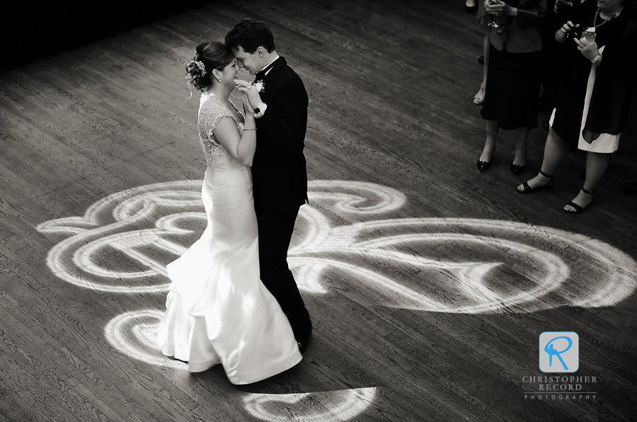 The first dance capture from above by Todd