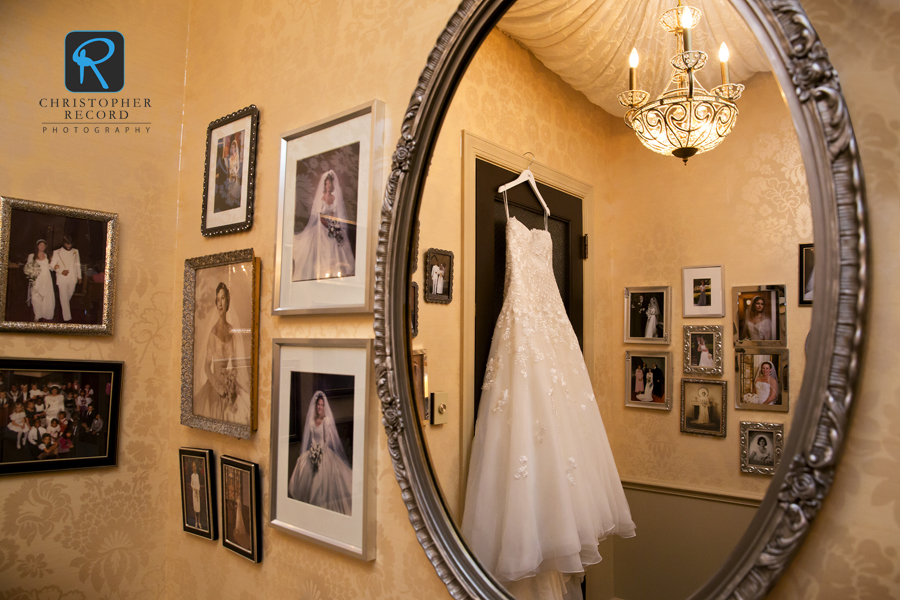 The bride's room