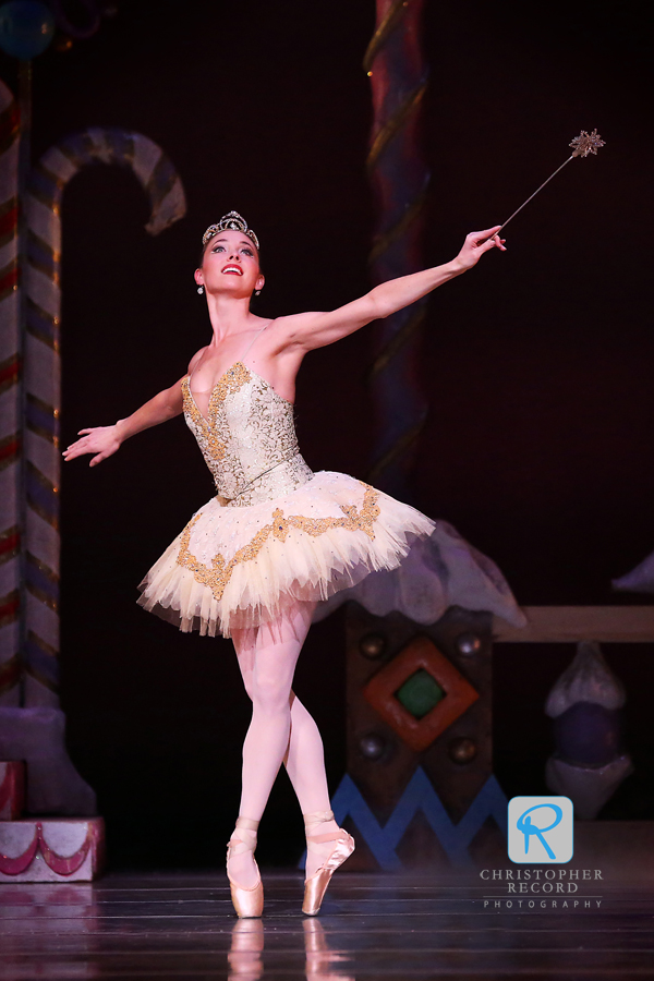 Jamie Dee Clifton as the Sugar Plum Fairy