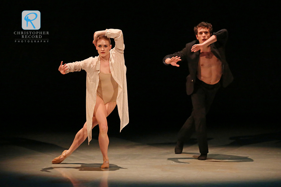 Sarah Hayes Harkins and Josh Hall in Short Ride In A Fast Machine from dancer David Morse