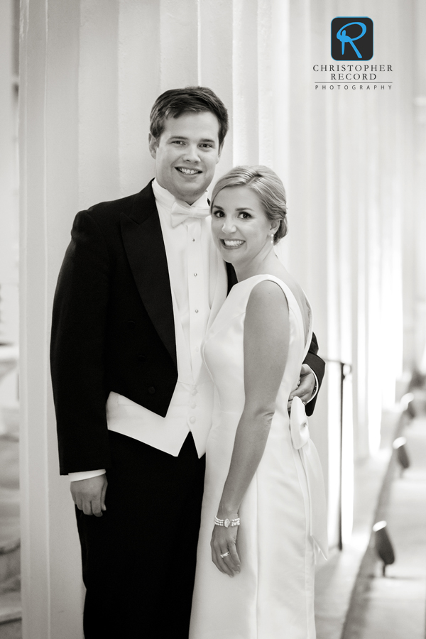Caroline and Bryan at Charlotte Country Club