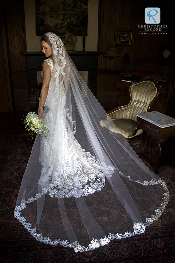 Camilla's beautiful Modern Trousseau dress