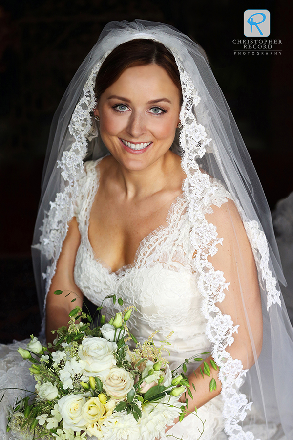 The stunning bride